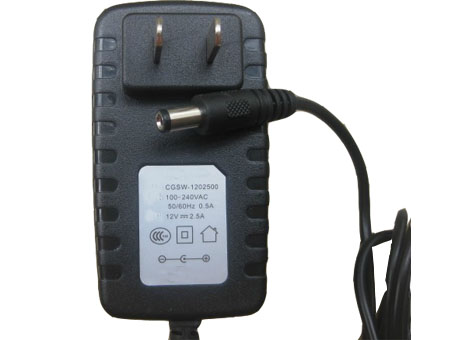 AC 110V~240V DC 12V 2.5A(30W) DC Charger Power Ac adapter cord EU