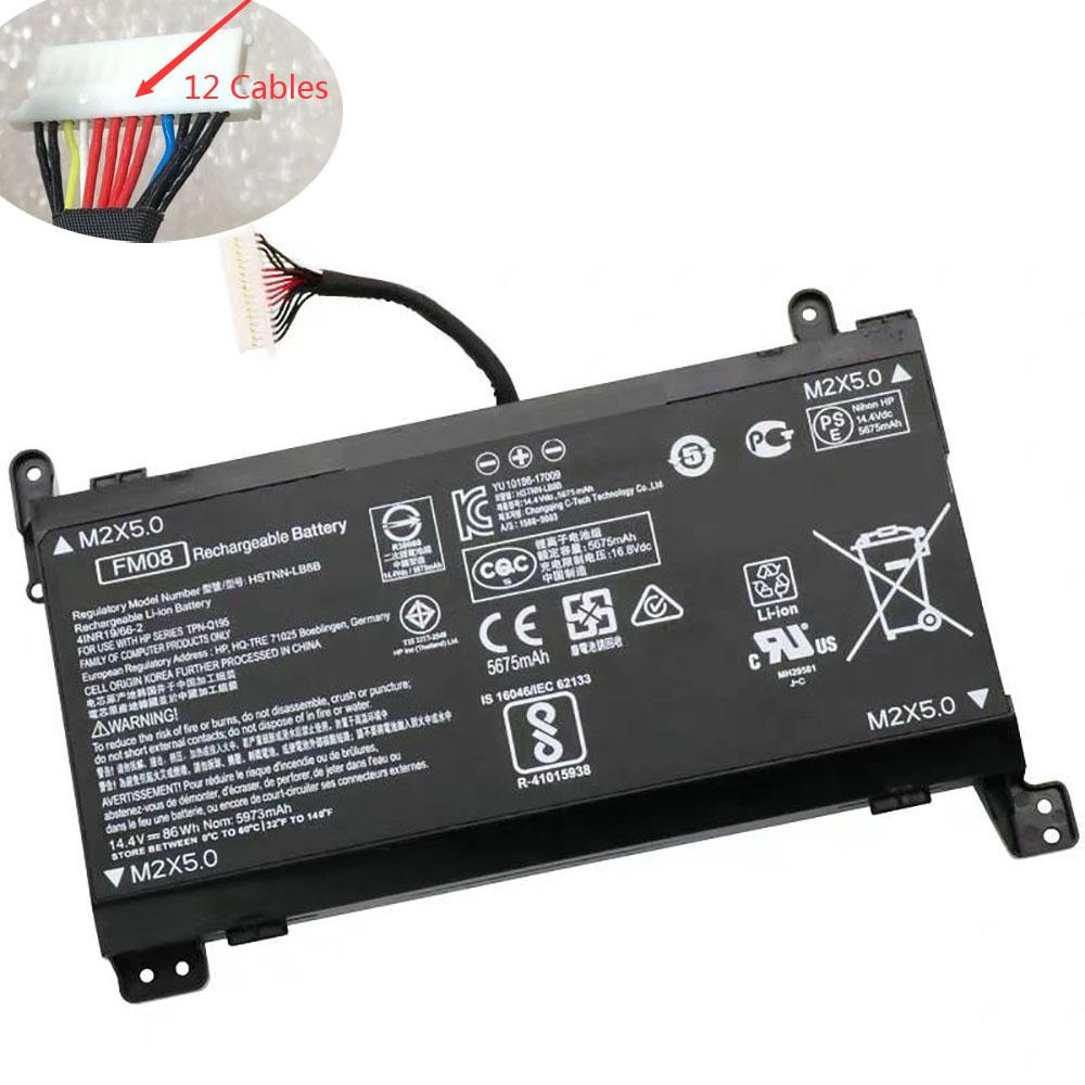 HP HSTNN LB8B 922753 421 922977 855 TPN Q195 12 Cables battery